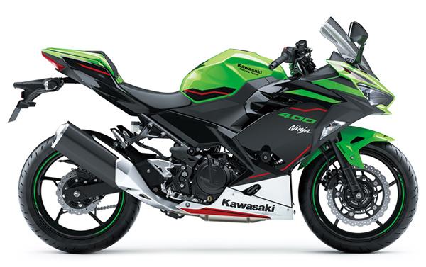 Ninja 400 SE 2021 สีเขียว