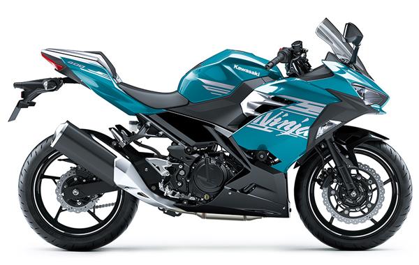Ninja 400 SE 2021 สีฟ้า