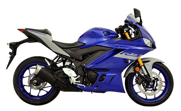 Yamaha R3 2020 สีน้ำเงิน