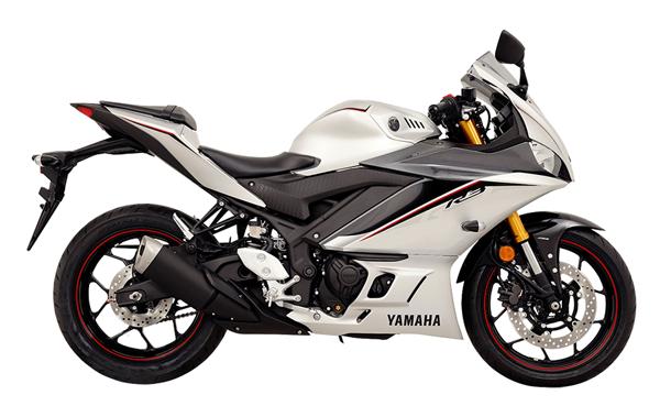 Yamaha R3 2020 สีเทา