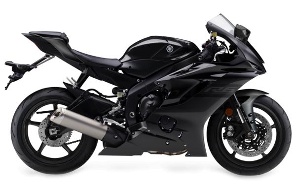 Yamaha R6 2020 สีดำ