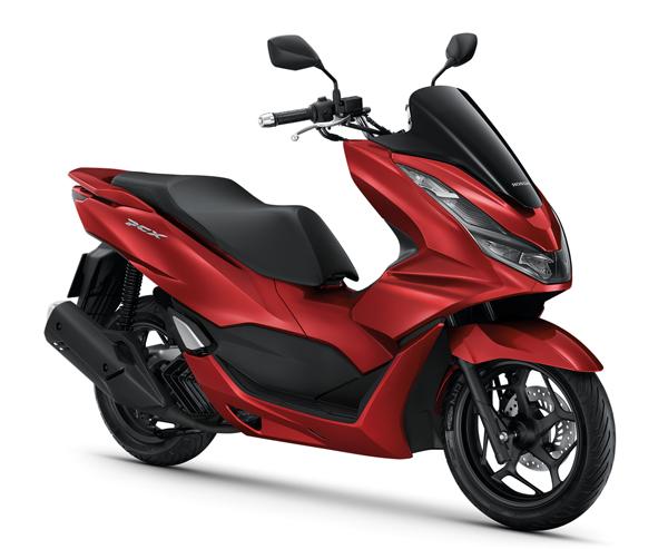 Honda PCX160 2021 รุ่น Standard สีแดง
