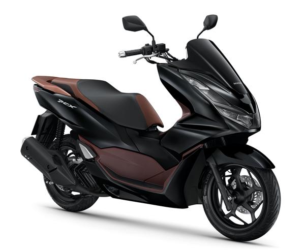 Honda PCX160 รุ่น ABS 2021 สีดำ-น้ำตาล