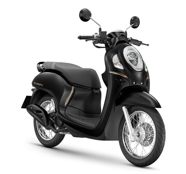 Honda Scoopy Prestige 2021 สีดำ