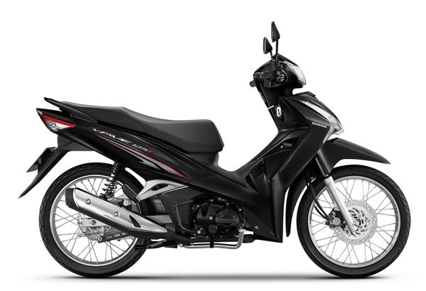 Wave125i 2021 สีดำ