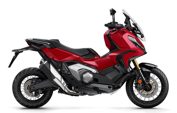 Honda X-ADV 2021 สีแดง