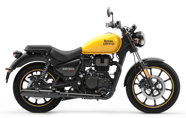Meteor 350 Fireball สีเหลือง