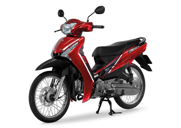 Yamaha Finn 2020 สีแดง