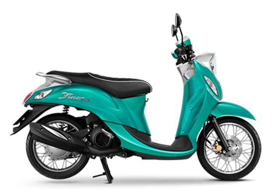 amaha Fino 2021 สีเขียว
