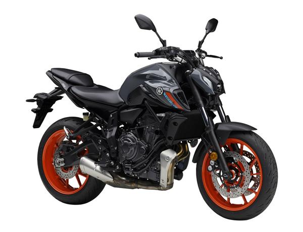 Yamaha MT-07 2021 สีเทา