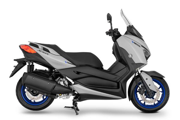 Yamaha XMAX 2021 สีเทา