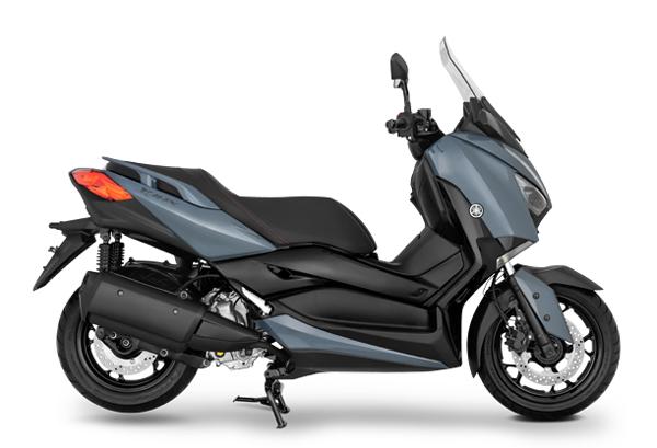 Yamaha XMAX 2021 สีเทา-ดำ