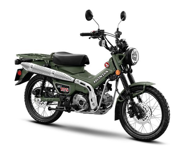 Honda CT125 2021 สีเขียว