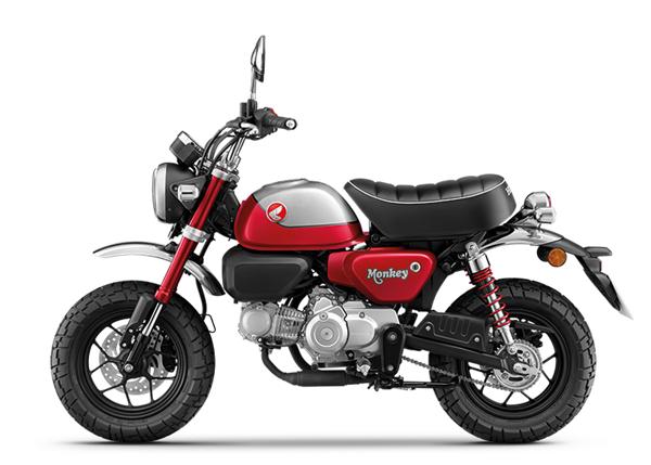Honda Monkey 2021 สีแดง