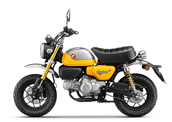 Honda Monkey 2021 สีเหลือง