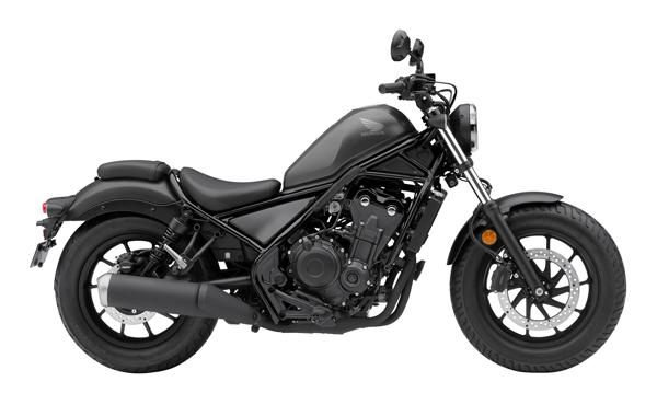 Honda Rebel 500 2021 สีเทาดำ