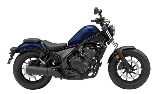 Honda Rebel 500 2021 สีน้ำเงิน