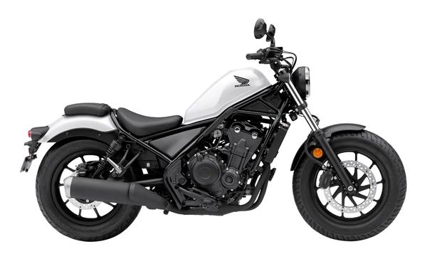 Honda Rebel 500 2021 สีขาว