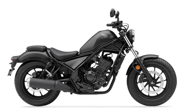 Honda Rebel 300 2021 สีเทาดำ