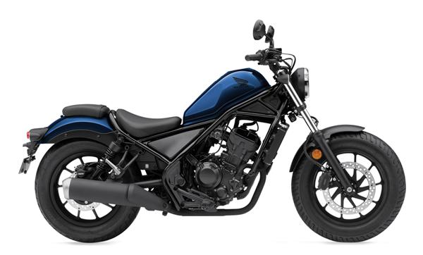 Honda Rebel 300 2021 สีน้ำเงิน