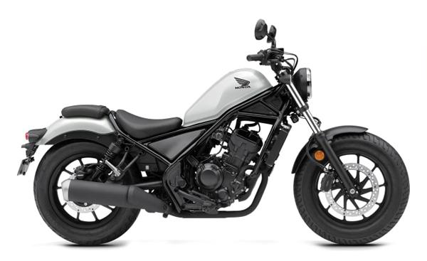 Honda Rebel 300 2021 สีขาว