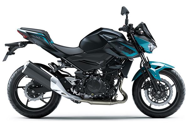 Kawasaki Z400 2021 สีฟ้า-ดำ