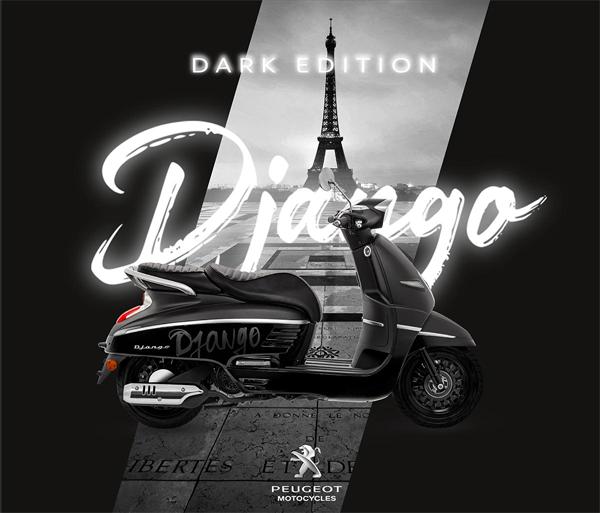 Peugeot Django 2021 สีดำ