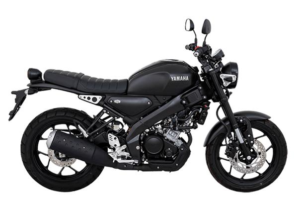 Yamaha XSR155 2021 สีดำ