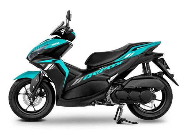 Yamaha Aerox 2021 Standard สีเขียว