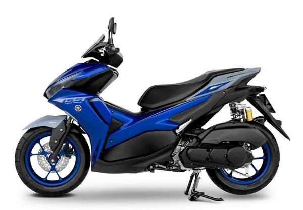 Yamaha Aerox 2021 ABS สีน้ำเงิน