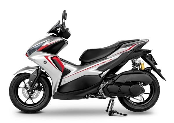 Yamaha Aerox 2021 ABS สีเทา