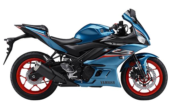 Yamaha YZF-R3 2021 สีฟ้า