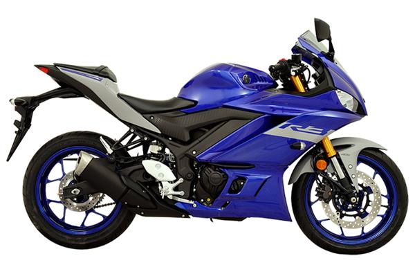 Yamaha YZF-R3 2021 สีน้ำเงิน