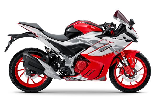 GPX DEMON GR200R 2021-2022 สีขาว-แดง