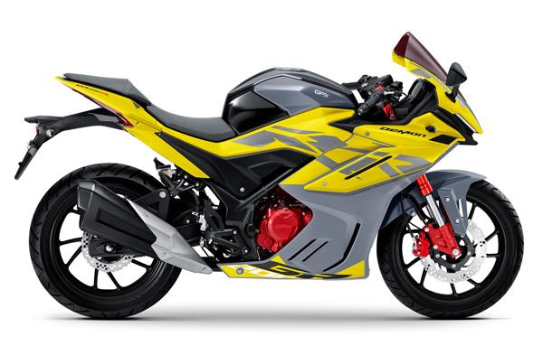 GPX DEMON GR200R 2021-2022 สีเหลือง-เทา