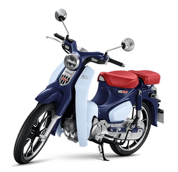 Honda C125 2021 สีน้ำเงิน