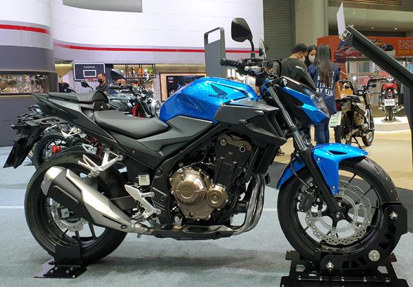 Honda CB500F 2021