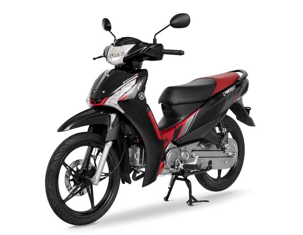 Yamaha Finn 2021 สีดำ