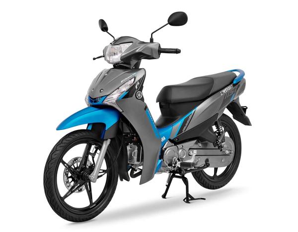 Yamaha Finn 2021 สีเทา-น้ำเงิน