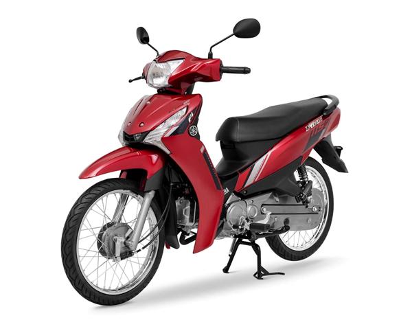 Yamaha Finn 2021 สีแดง