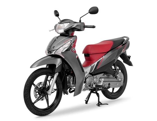 Yamaha Finn UBS 2021 สีเทา-แดง