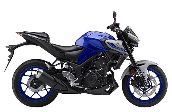 Yamaha MT-03 2021 สีน้ำเงิน