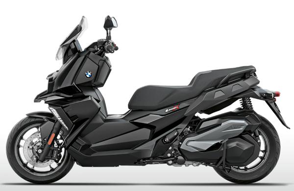 BMW C400X สีดำ