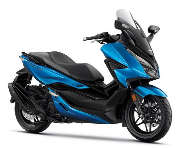 New Forza350 2021 สีน้ำเงิน-ดำ