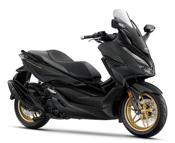 New Forza350 2021 Roadsync สีดำ