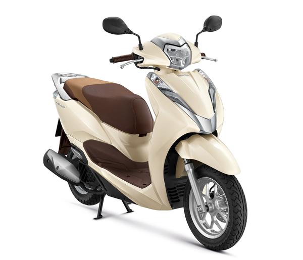 Honda LEAD125 2021 สีขาว