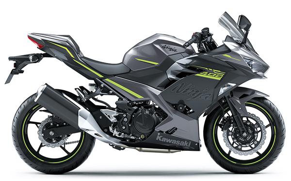 Ninja 400 HG 2021 สีเทา