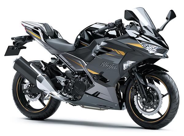 Ninja 400 HG 2022 สีเทา