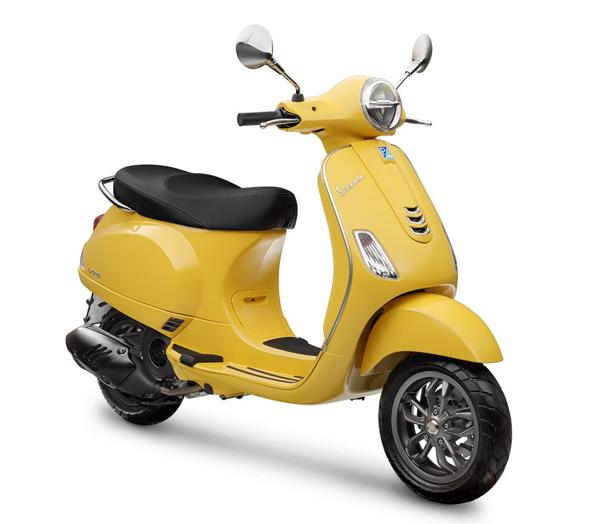 Vespa LX 125 2021 สีเหลือง