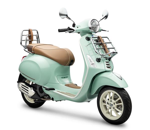 Vespa Primavera 150 - PIC NIC Edition สีเขียว